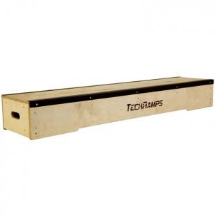 Grindbox prosty niski Techramps z katownikiem dł 1,8m TR-M-G24-40
