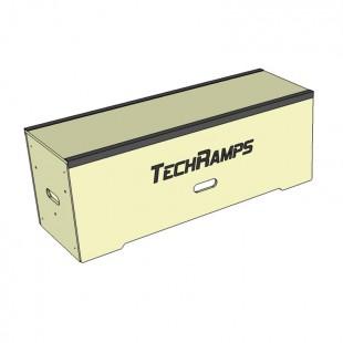 Grindbox prosty z kątownikiem 120cm - 45cm - 40cm  GPK120-45-40