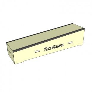 Grindbox spadkowy z kątownikiem dł 180cm - 30cm - 45cm  BSK180-30-45-40-40